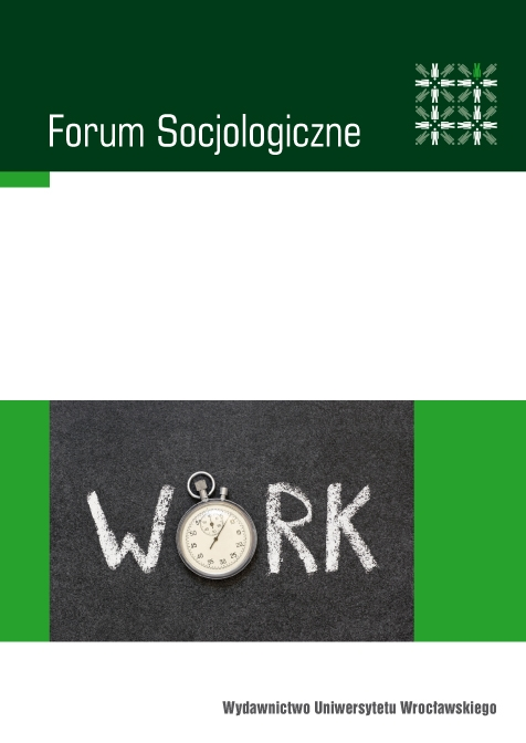 Social Boundaries and Meanings of Work in the 21st-Century Capitalism