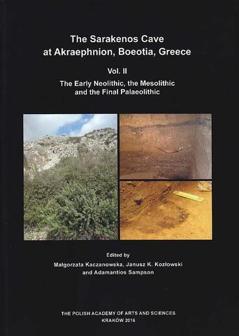 The Sarakenos Cave at Akraephnion, Boeotia, Greece. II